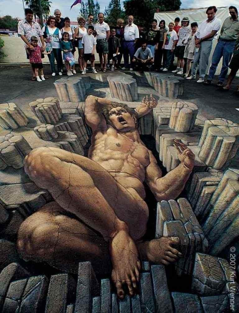 3D-Street-Art-Works-14 42 Most Breathtaking 3D Street Art Works