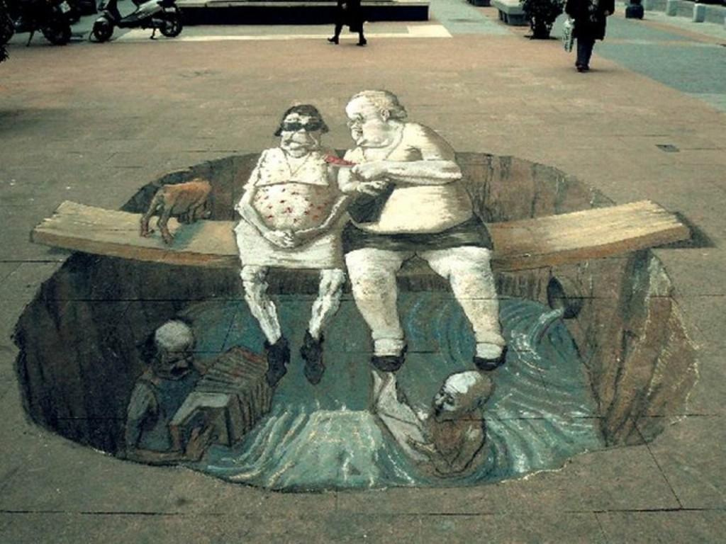 3D-Street-Art-Works-23 42 Most Breathtaking 3D Street Art Works