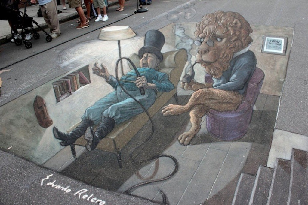 3D-Street-Art-Works-5 42 Most Breathtaking 3D Street Art Works