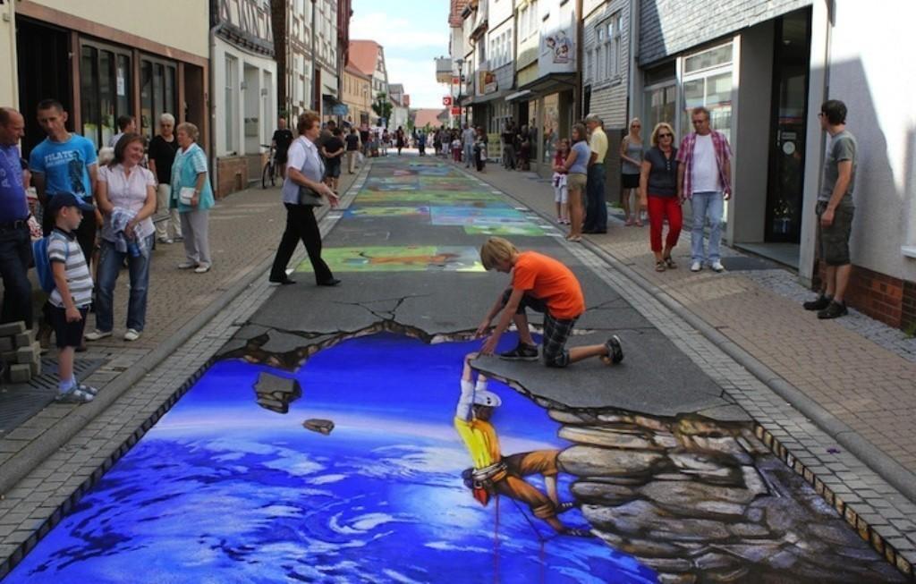 3D-Street-Art-Works-9 42 Most Breathtaking 3D Street Art Works