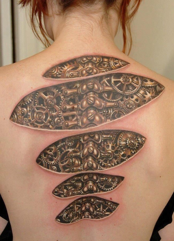 3D-Tattoos-You-Have-Never-Seen-Before-35 55 Most Jaw-Dropping 3D Tattoos You Have Never Seen