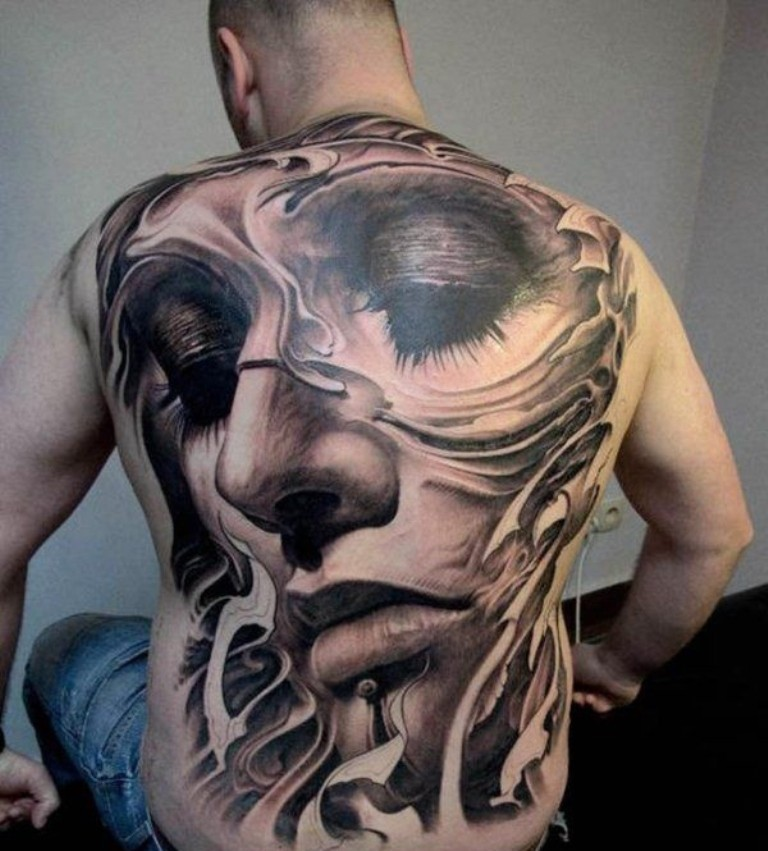 3D-Tattoos-You-Have-Never-Seen-Before-53 55 Most Jaw-Dropping 3D Tattoos You Have Never Seen