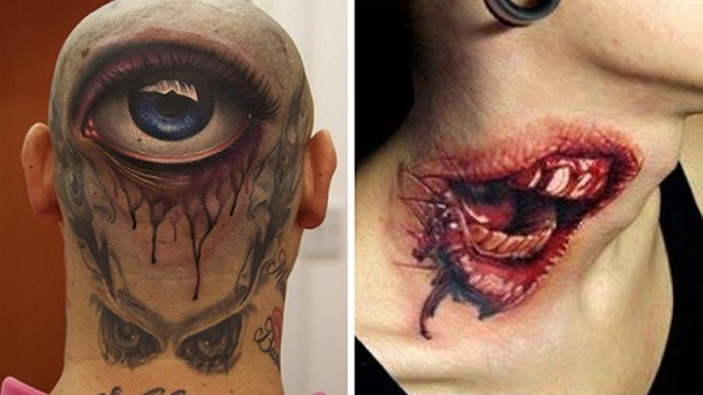 3D-Tattoos-You-Have-Never-Seen-Before-7 55 Most Jaw-Dropping 3D Tattoos You Have Never Seen