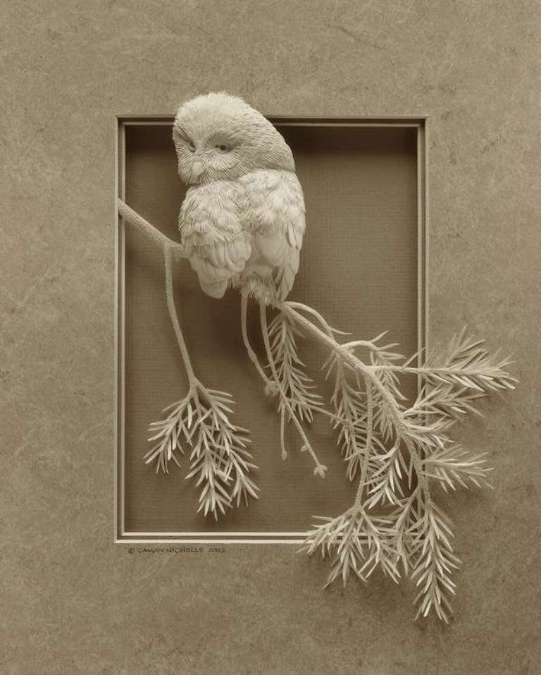3D-paper-sculpture-art-1 50 Most Unbelievable & Amazing 3D Paper Sculptures
