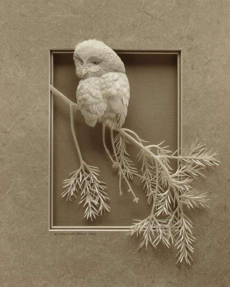 3D-paper-sculpture-art-1 50 Most Unbelievable & Amazing 3D Paper Sculptures