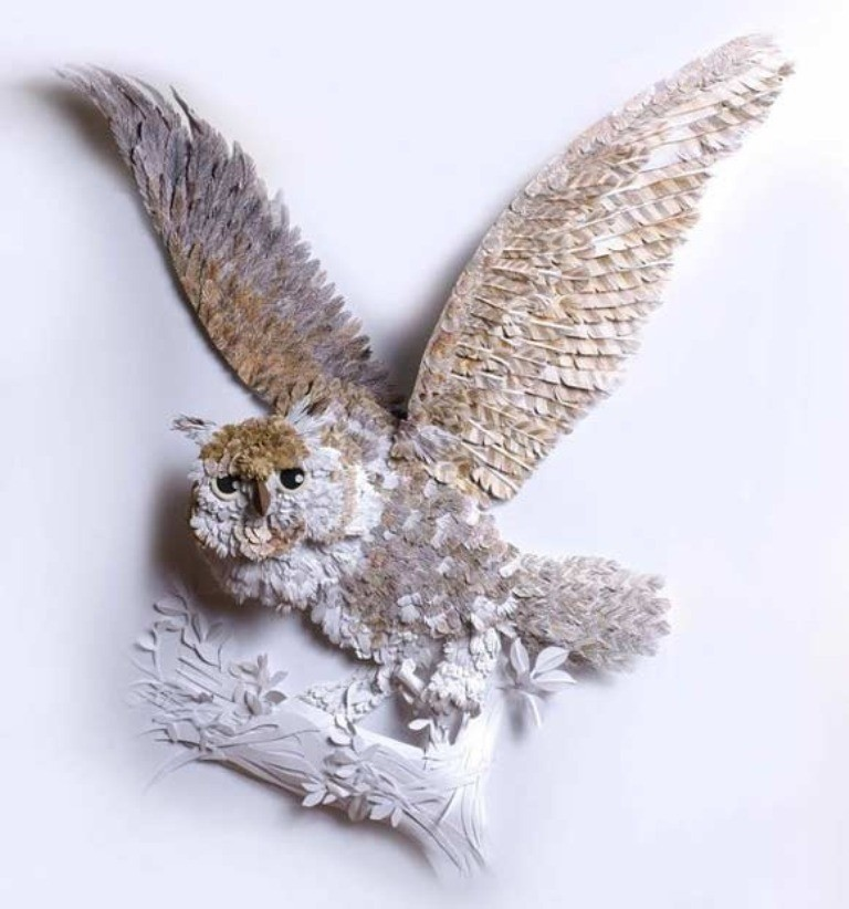 3D-paper-sculpture-art-17 50 Most Unbelievable & Amazing 3D Paper Sculptures