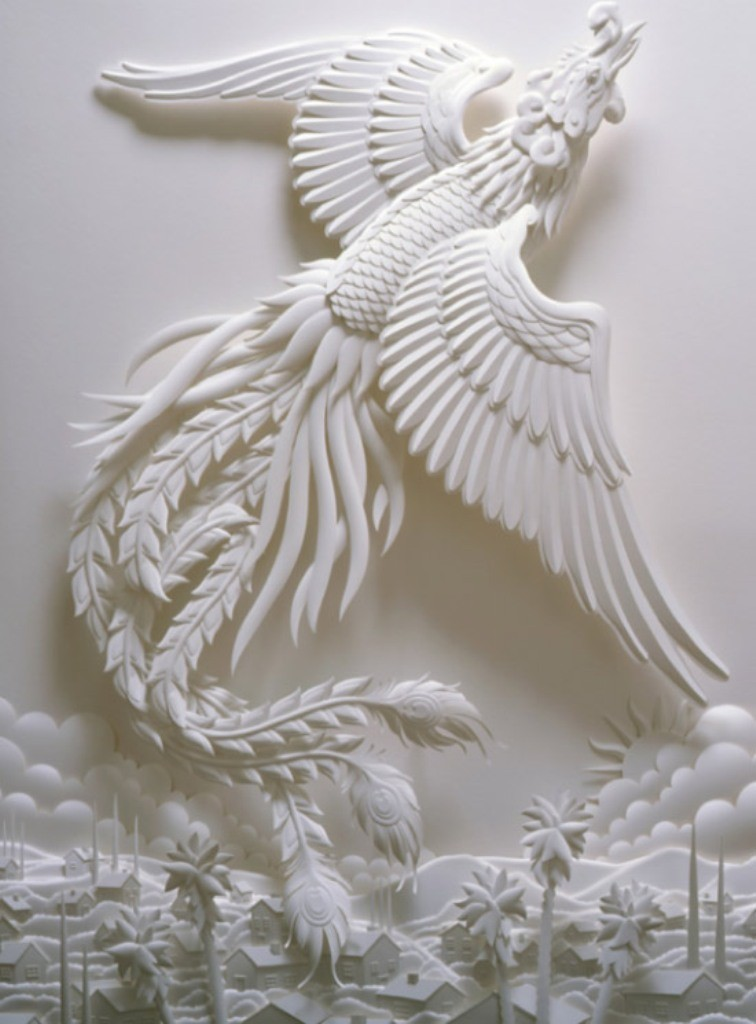 3D-paper-sculpture-art-2 50 Most Unbelievable & Amazing 3D Paper Sculptures