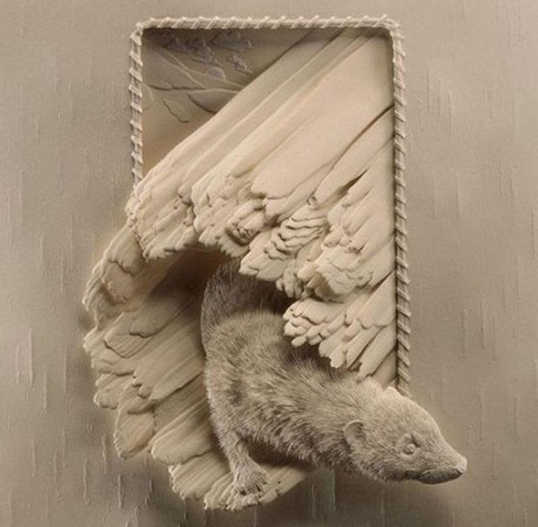 3D-paper-sculpture-art-36 50 Most Unbelievable & Amazing 3D Paper Sculptures