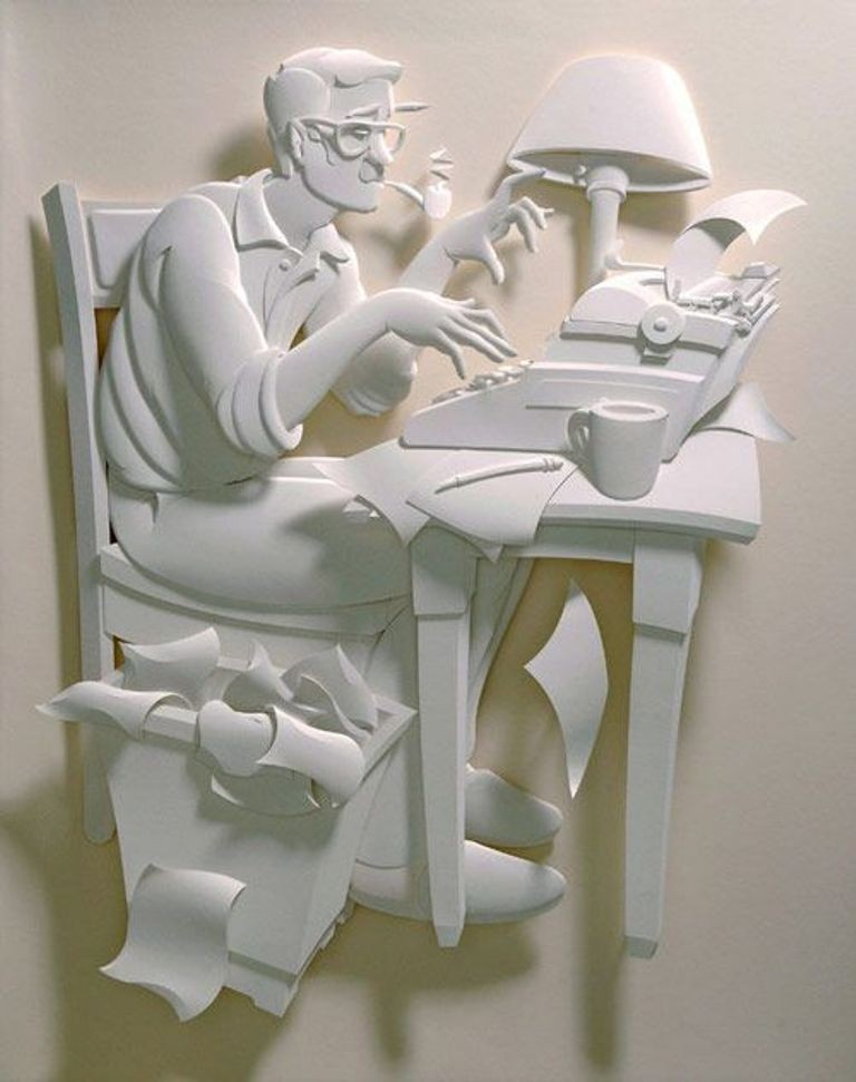 3D-paper-sculpture-art-4 50 Most Unbelievable & Amazing 3D Paper Sculptures