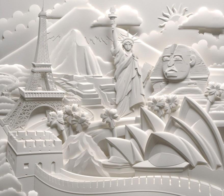 3D-paper-sculpture-art-47 50 Most Unbelievable & Amazing 3D Paper Sculptures