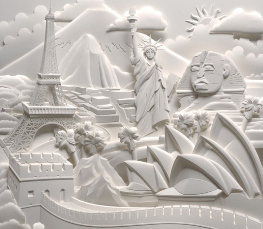 3D-paper-sculpture-art-47 50 Most Unbelievable & Amazing 3D Paper Sculptures