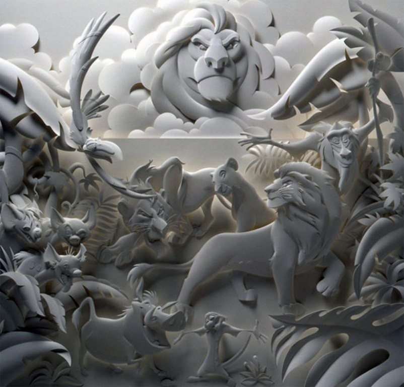 3D-paper-sculpture-art-48 50 Most Unbelievable & Amazing 3D Paper Sculptures