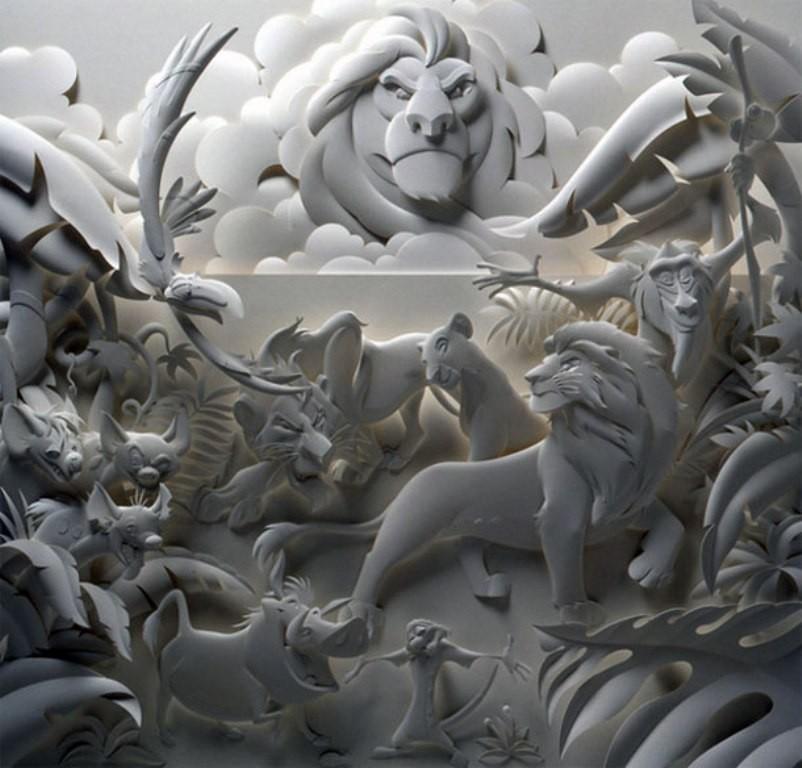 3D-paper-sculpture-art-48 50 Most Unbelievable & Amazing 3D Paper Sculptures