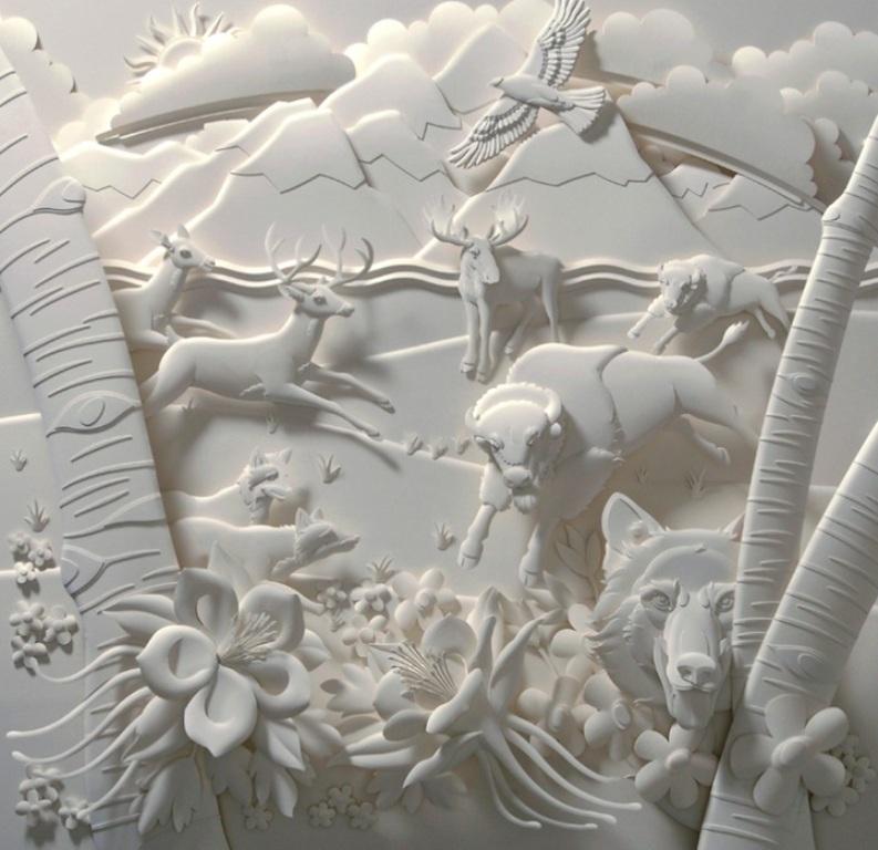 3D-paper-sculpture-art-49 50 Most Unbelievable & Amazing 3D Paper Sculptures
