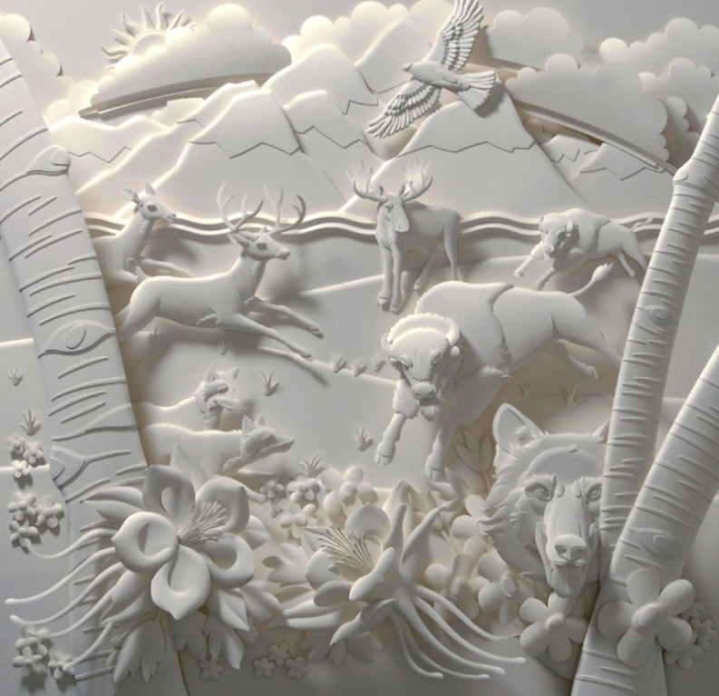 3D-paper-sculpture-art-49 50 Most Unbelievable & Amazing 3D Paper Sculptures