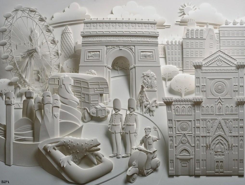 3D-paper-sculpture-art-50 50 Most Unbelievable & Amazing 3D Paper Sculptures