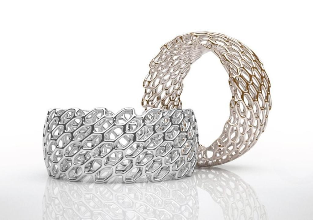 3D-printed-jewelry-designs-18 50 Coolest 3D Printed Jewelry Designs