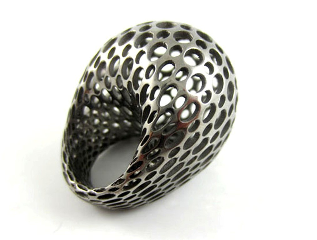 3D-printed-jewelry-designs-25 50 Coolest 3D Printed Jewelry Designs