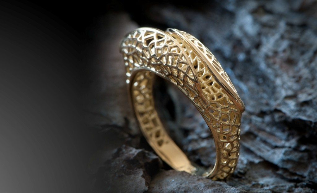 3D-printed-jewelry-designs-50 50 Coolest 3D Printed Jewelry Designs
