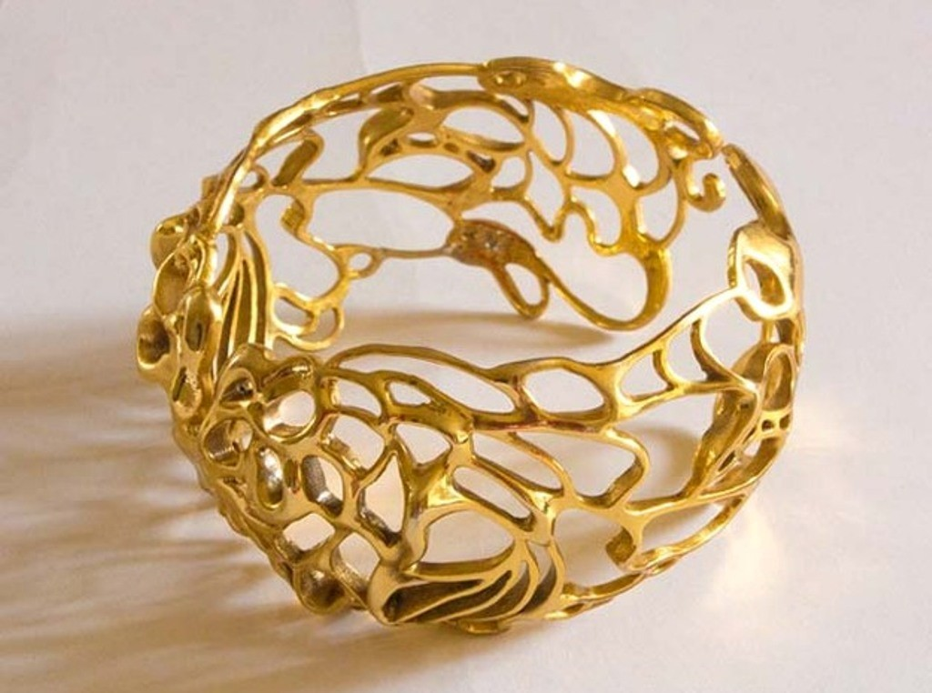 3D-printed-jewelry-designs-7 50 Coolest 3D Printed Jewelry Designs