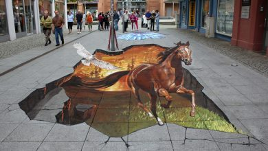 Photo of 42 Most Breathtaking 3D Street Art Works