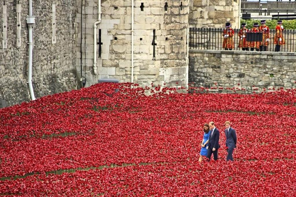 888246-Breathtaking-Poppies-Make-the-Tower-of-London-More-Stunning-121 888,246 Breathtaking Poppies Make the Tower of London More Stunning