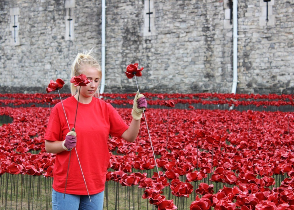 888246-Breathtaking-Poppies-Make-the-Tower-of-London-More-Stunning-231 888,246 Breathtaking Poppies Make the Tower of London More Stunning