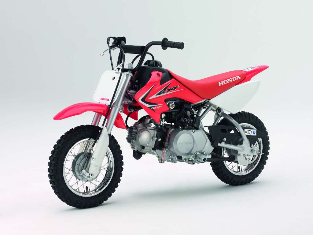 CRF50F Best 25 Motorcycle Models Released by Honda