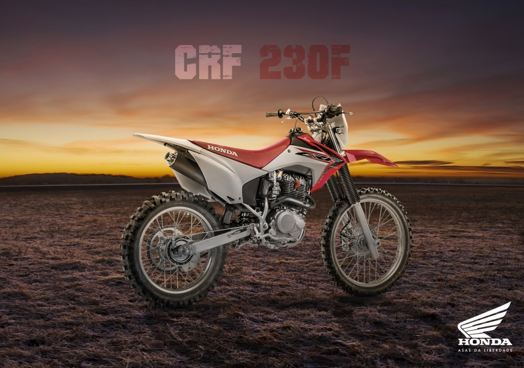 Honda-CRF230F Awesome Motorcycle Models Released by Honda for 2016