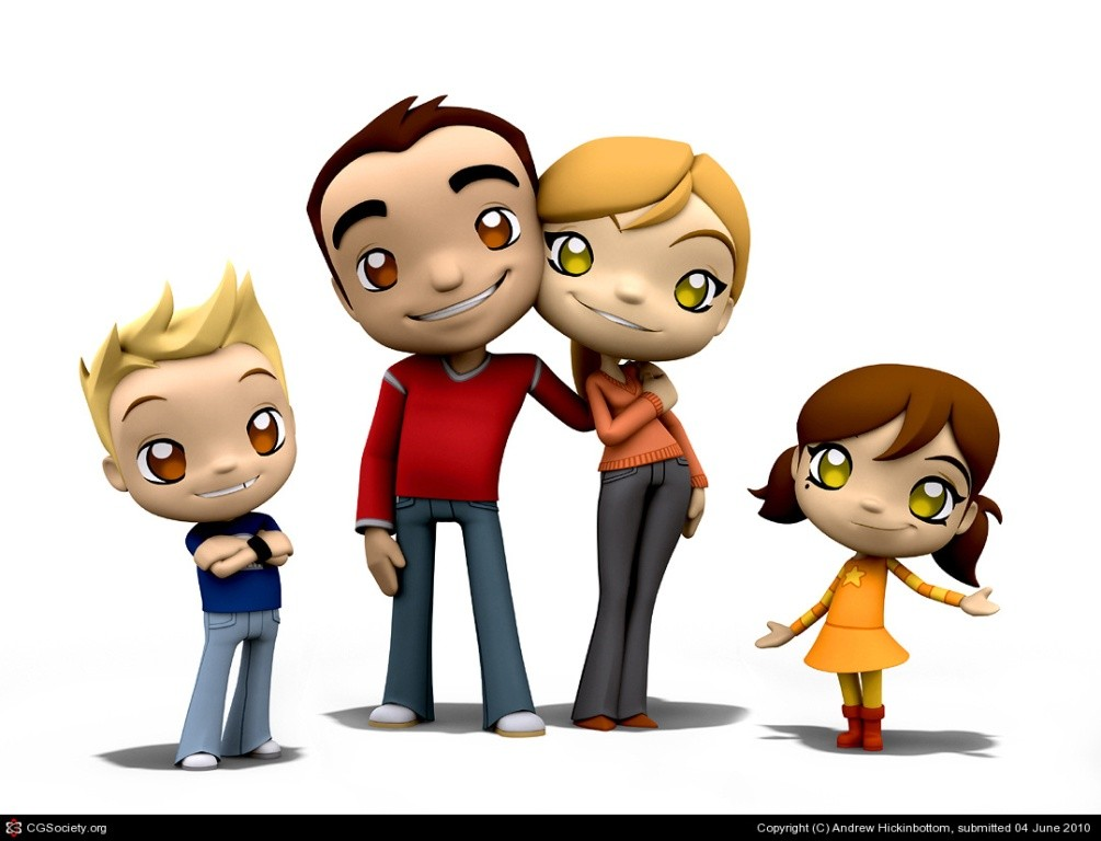 Most-Beautiful-3D-Cartoon-Character-Designs-13 60 Most Beautiful 3D Cartoon Character Designs