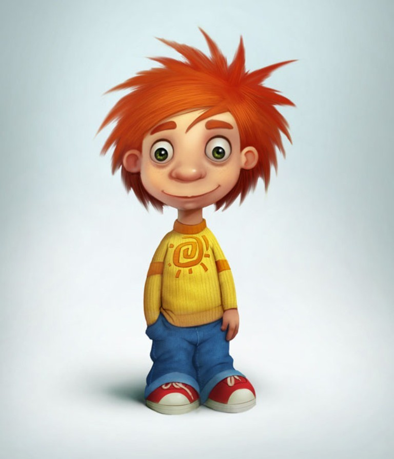 Most-Beautiful-3D-Cartoon-Character-Designs-14 60 Most Beautiful 3D Cartoon Character Designs