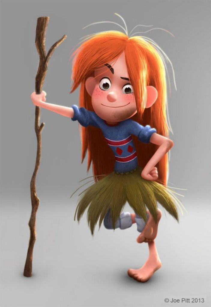 Most-Beautiful-3D-Cartoon-Character-Designs-15 60 Most Beautiful 3D Cartoon Character Designs