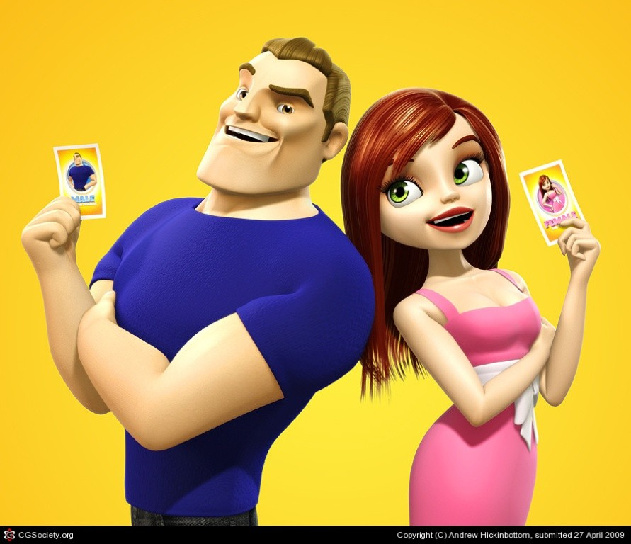 Most-Beautiful-3D-Cartoon-Character-Designs-24 60 Most Beautiful 3D Cartoon Character Designs