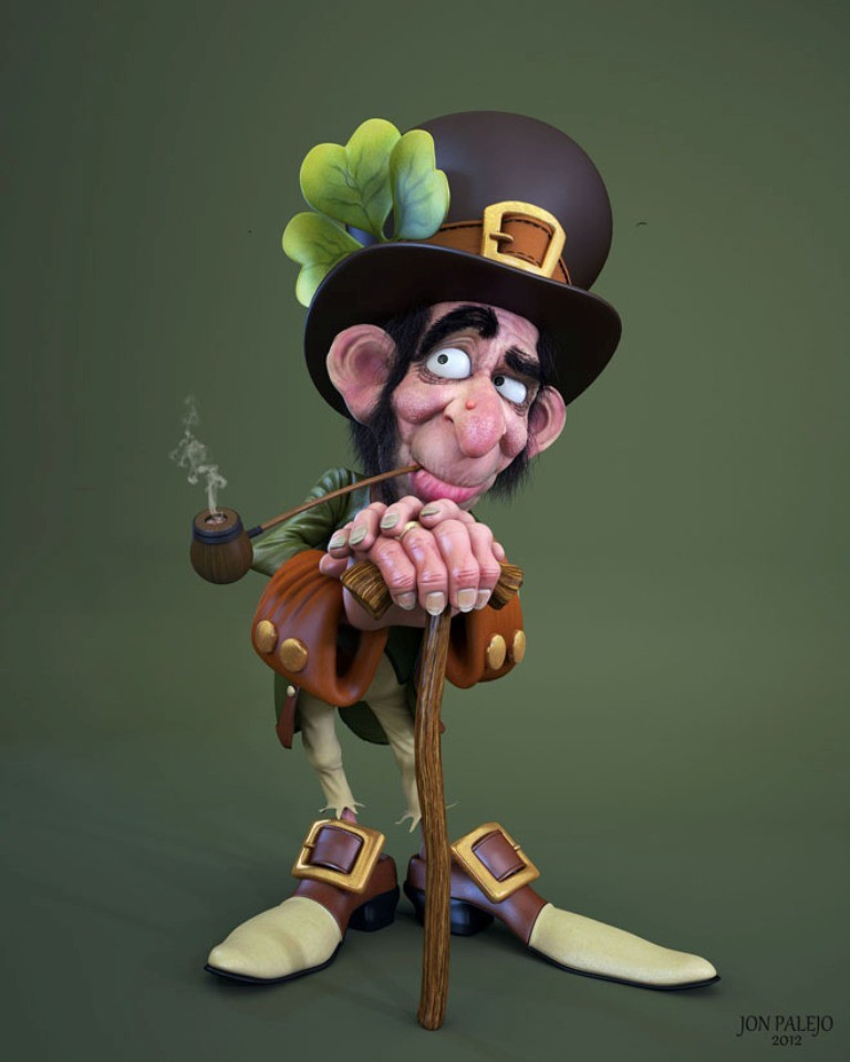 Most-Beautiful-3D-Cartoon-Character-Designs-32 60 Most Beautiful 3D Cartoon Character Designs