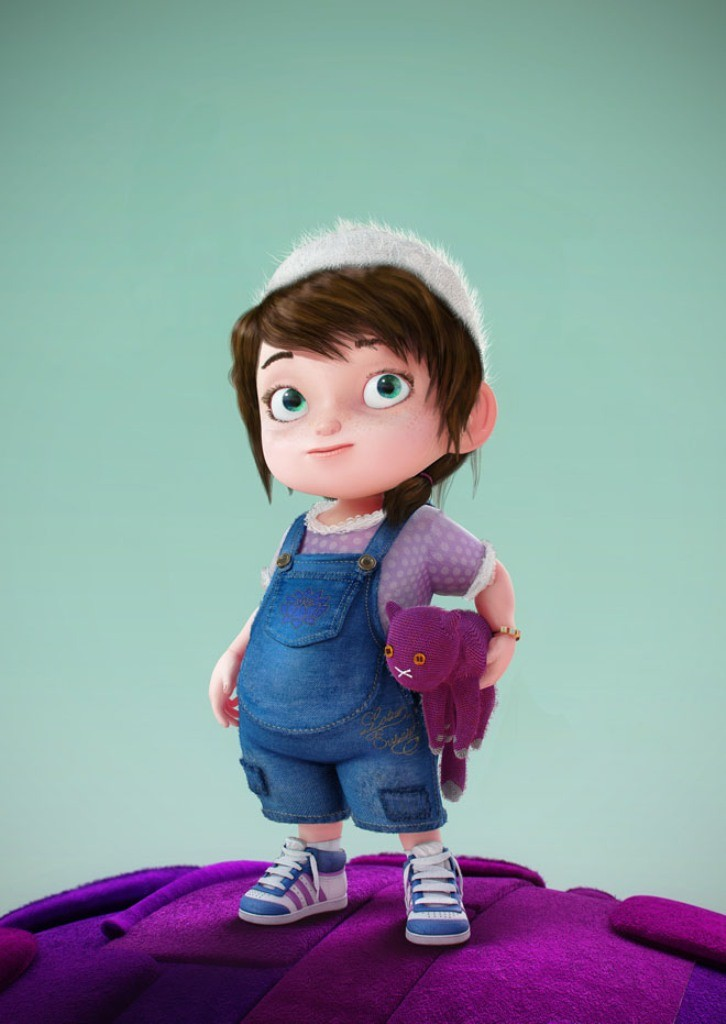 Most-Beautiful-3D-Cartoon-Character-Designs-44 60 Most Beautiful 3D Cartoon Character Designs