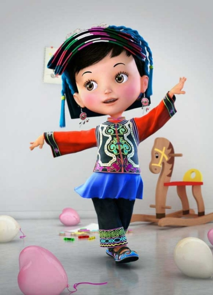 Most-Beautiful-3D-Cartoon-Character-Designs-9 60 Most Beautiful 3D Cartoon Character Designs