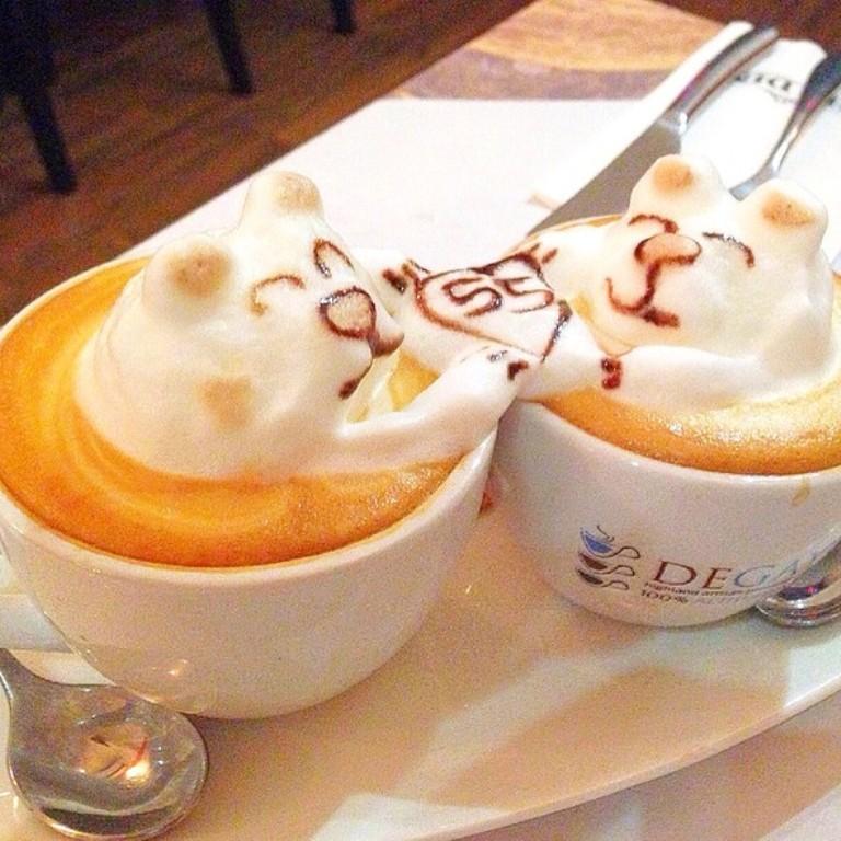 Sculptures-of-3D-Latte-Art-10 32 Most Eye-catching Sculptures of 3D Latte Art