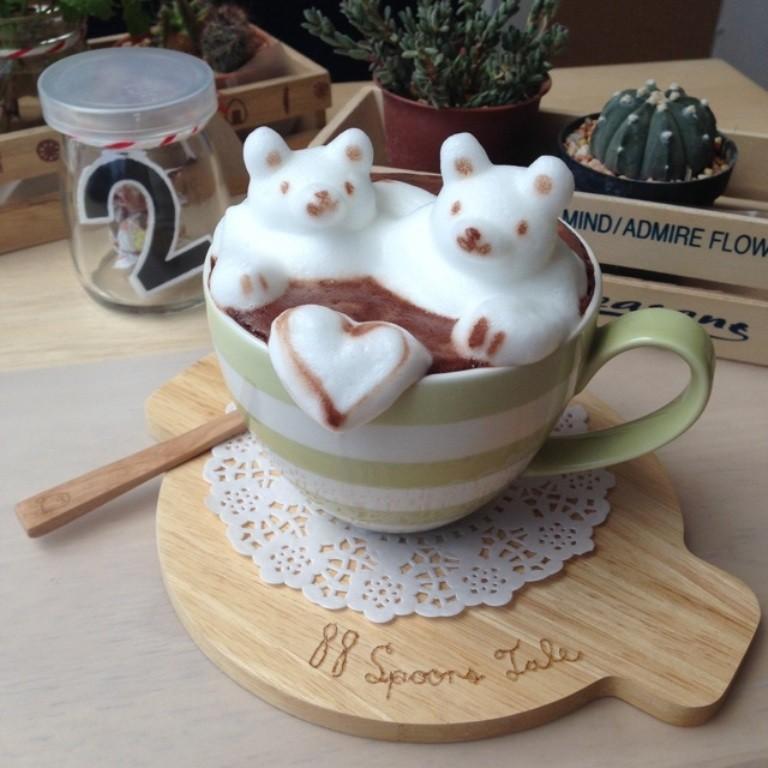 Sculptures-of-3D-Latte-Art-11 32 Most Eye-catching Sculptures of 3D Latte Art