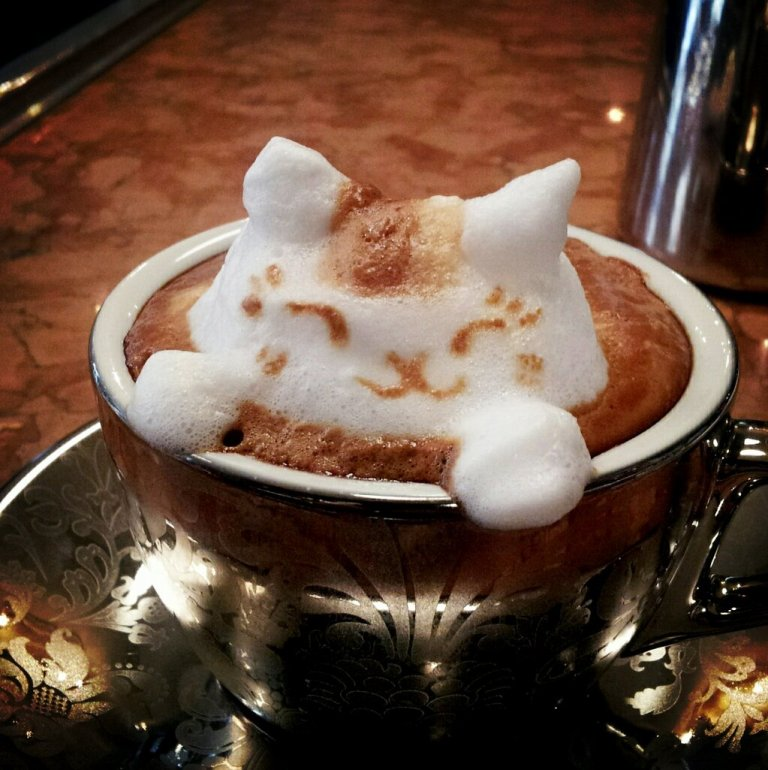 Sculptures-of-3D-Latte-Art-13 32 Most Eye-catching Sculptures of 3D Latte Art