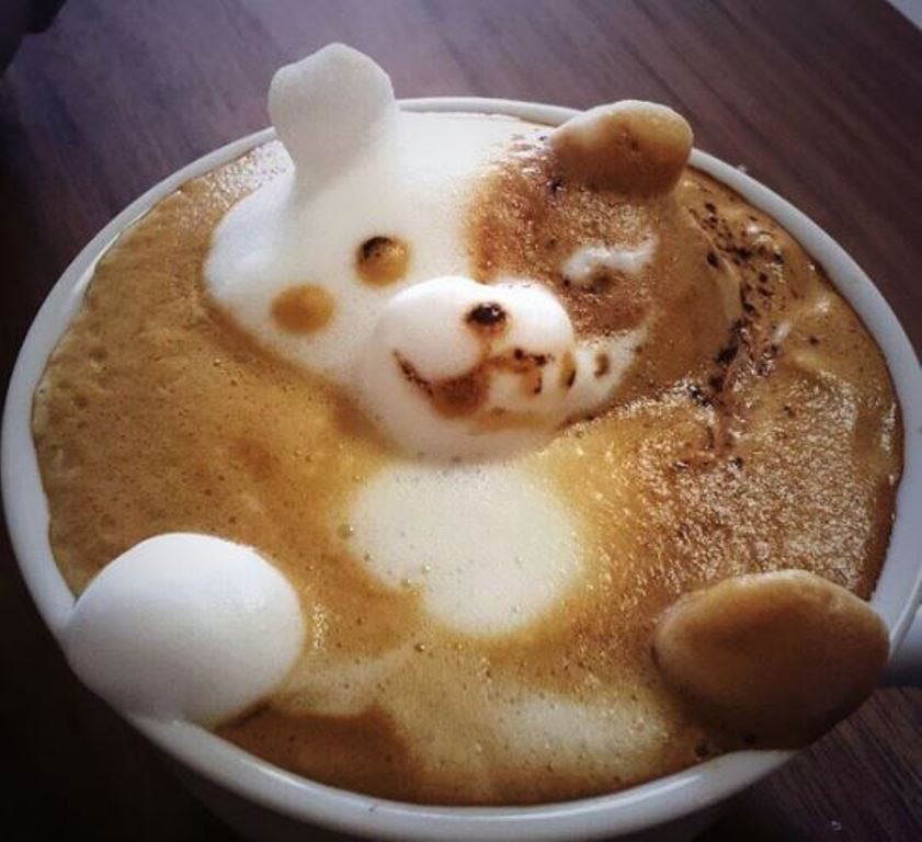 Sculptures-of-3D-Latte-Art-14 32 Most Eye-catching Sculptures of 3D Latte Art