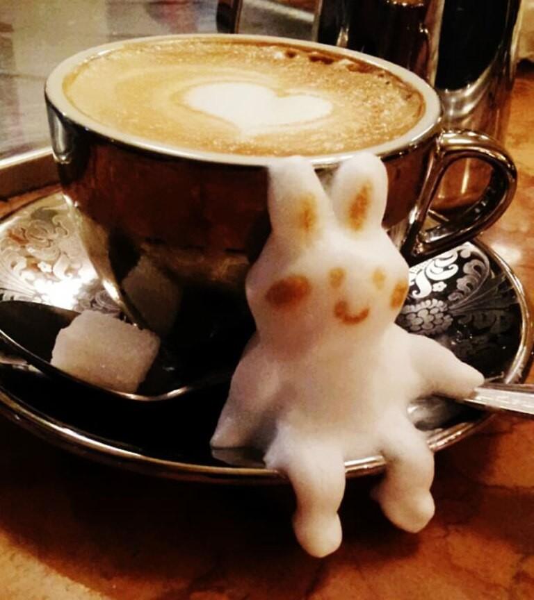 Sculptures-of-3D-Latte-Art-15 32 Most Eye-catching Sculptures of 3D Latte Art