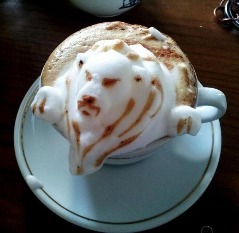 Sculptures-of-3D-Latte-Art-26 32 Most Eye-catching Sculptures of 3D Latte Art