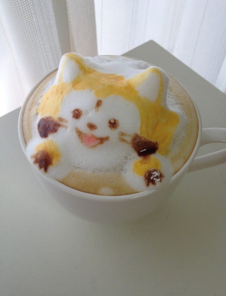 Sculptures-of-3D-Latte-Art-31 32 Most Eye-catching Sculptures of 3D Latte Art