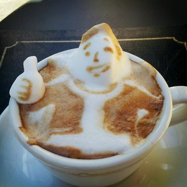 Sculptures-of-3D-Latte-Art-4 32 Most Eye-catching Sculptures of 3D Latte Art