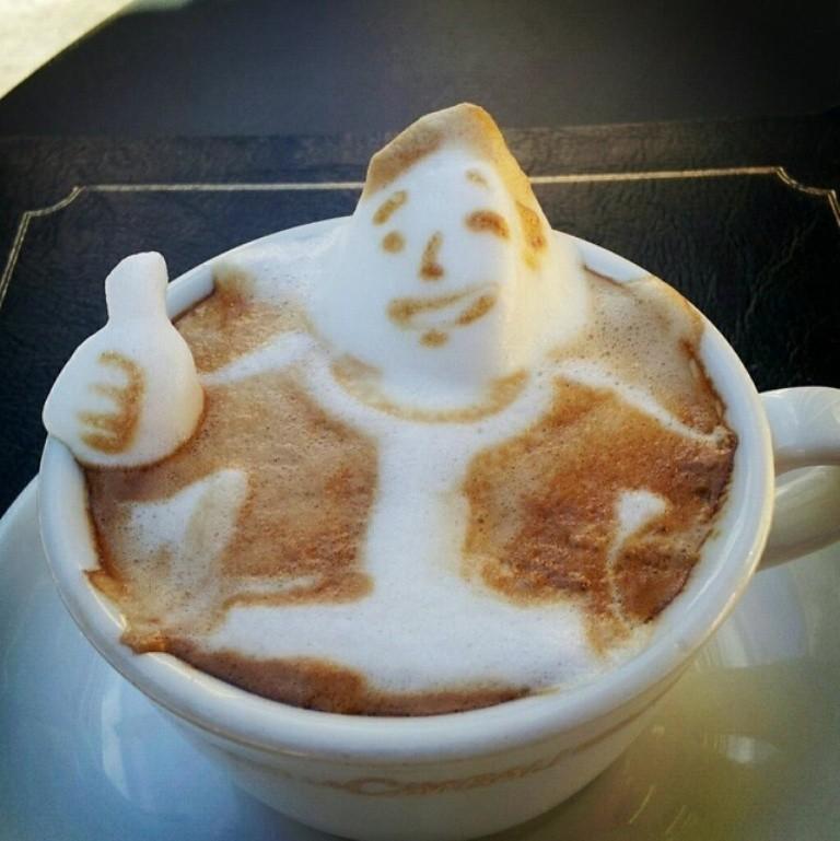 Sculptures-of-3D-Latte-Art-4 32 Most Eye-catching Sculptures of 3D Latte Art