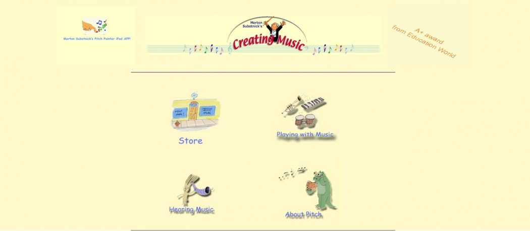 createmusic Top 10 Best Websites For Kids in 2015