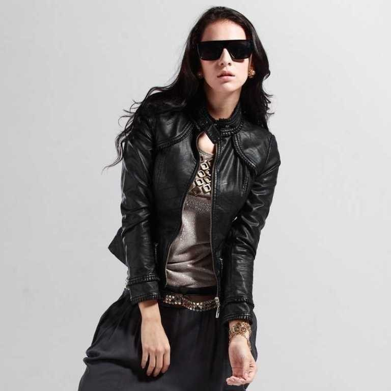 Leather-Jackets-for-Women-in-2016-3 62 Most Amazing Leather Jackets for Women in 2019