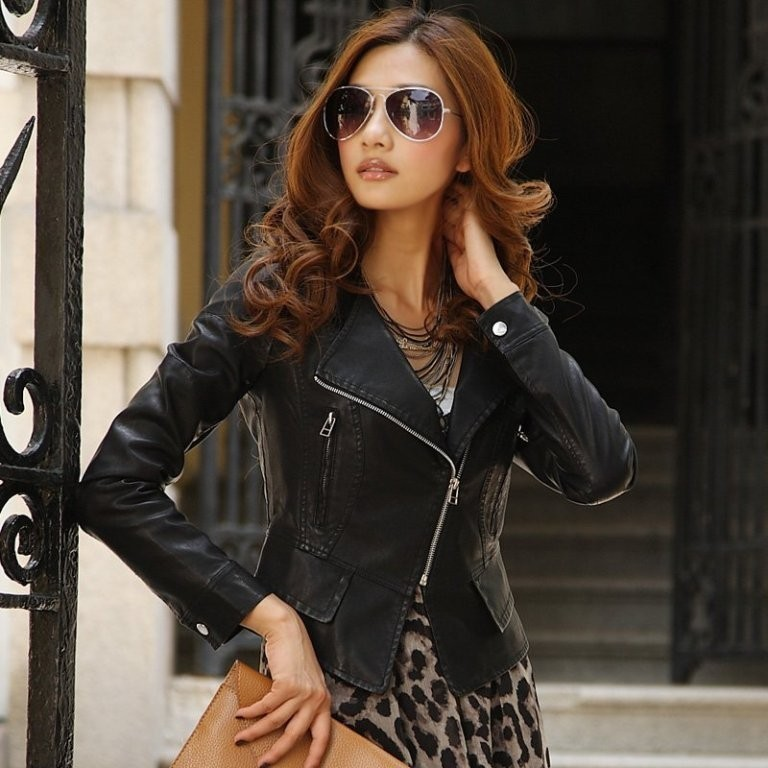Leather-Jackets-for-Women-in-2016-30 62 Most Amazing Leather Jackets for Women in 2017