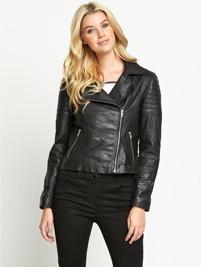 Leather-Jackets-for-Women-in-2016-36 62 Most Amazing Leather Jackets for Women in 2019