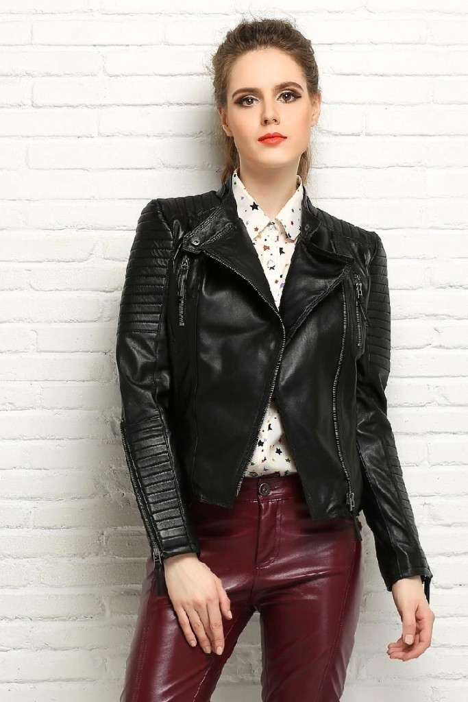 Leather-Jackets-for-Women-in-2016-45 62 Most Amazing Leather Jackets for Women in 2019